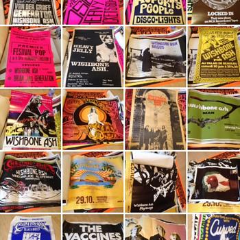 Punk 1970's music posters uk  - Music Memorabilia