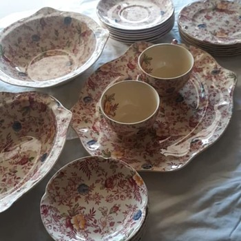 What can you tell me about this 8 service set?? - China and Dinnerware
