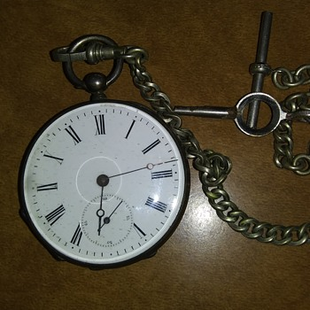 Key wind pocket watch - Pocket Watches