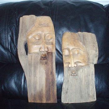 African Mask - Folk Art