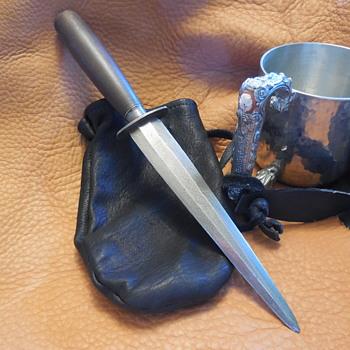 Robert Marek Hand Made Boot Knife/Dagger - Tools and Hardware