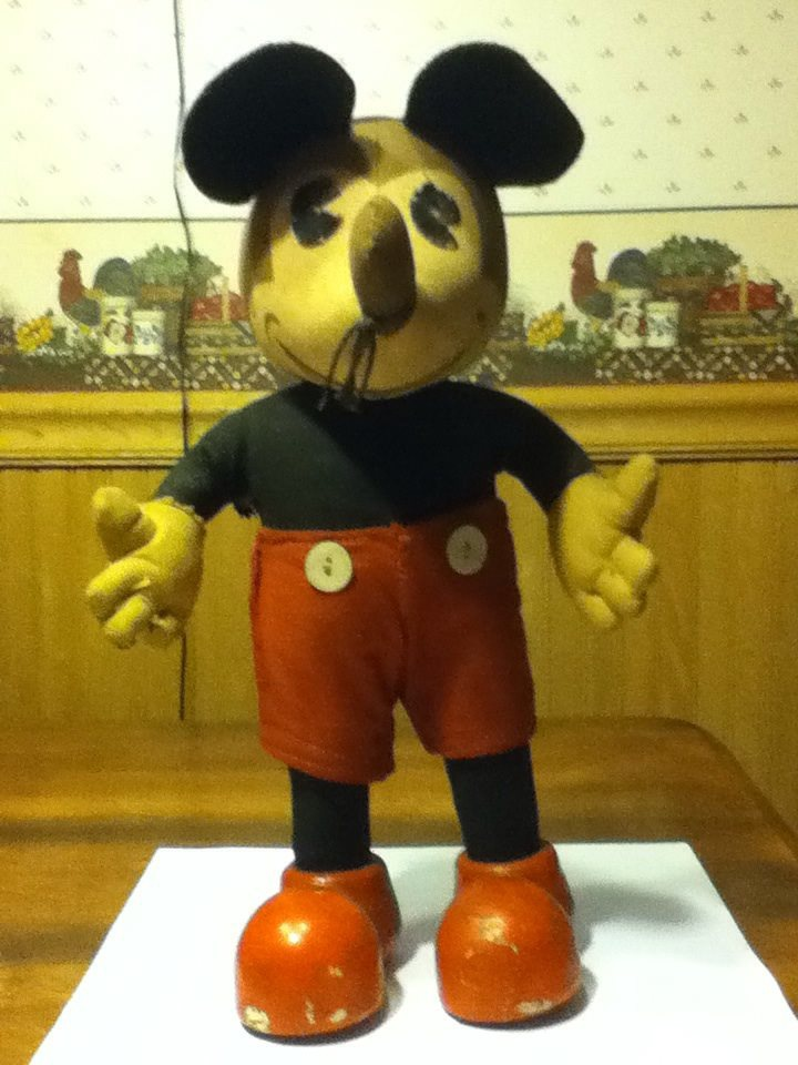 Mickey Mouse Doll Not A Toy Collectors Weekly