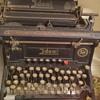 Hebrew letters, Seidel & Naumann typewriter, Ideal series