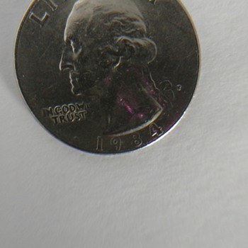 1984 Washington Quarter, Possible Error?
