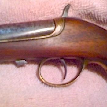 1860-70s Williamson Derringer .41 Rimfire / cap & ball - Military and Wartime