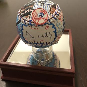 Don Mattingly Fazzino Baseball - Baseball