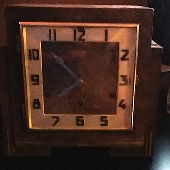 mantel clock anvil movement westminster chimes