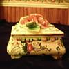 Porcelin Trinket Box - Italy