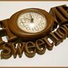"1978 Wall Clock -  ""Home Sweet Home "" ( Burwood Products, USA )"