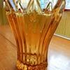 Sowerby celery vases and plinth.
