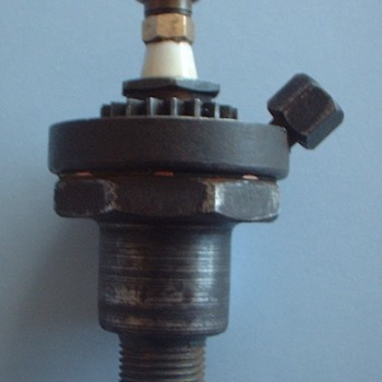 My 1931 Rocher spark plug /tire inflator / primer plug