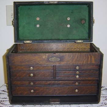 Here's the first chest in the display