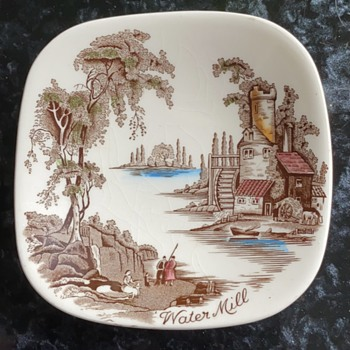 Can anyone tell me anything about this piece. - China and Dinnerware