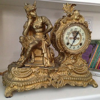 Any idea what this figural clock is?