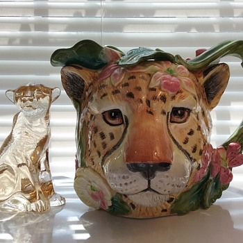 My cheetahs  - Art Glass