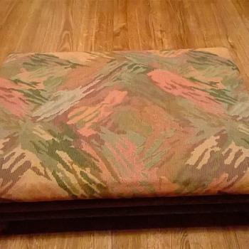 Old Adjustable/Collapsible Footstool, Thrift Shop Find, $10 - Furniture