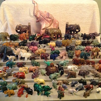 Elephant collection  - Animals