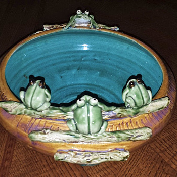 Frog Planter - Pottery