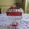 Westmoreland Glass Ruby Flash Candy Dish