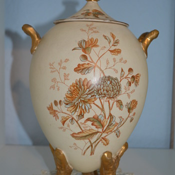 Another SF & Co vase with Royal Windsor pattern