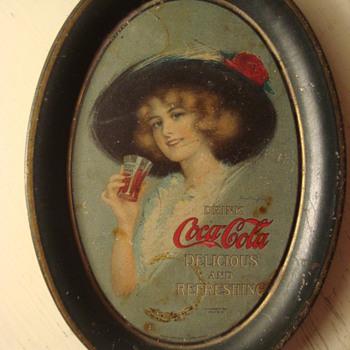 Coca-Cola tip trays - Coca-Cola