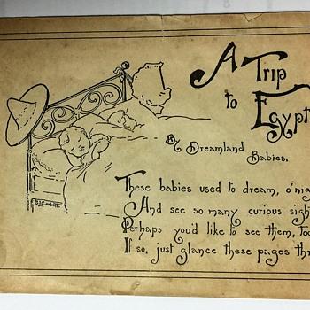 RARE 1902 CHILDREN'S BOOKLET/ ADVERTISEMENT FOR PILLSBURY WASHBURN FLOUR MILLS CO.