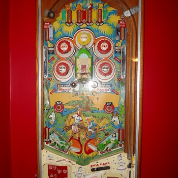Pinball on a Wall - Coin Operated