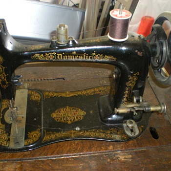 Unknown Domestic Sewing Machine Model?