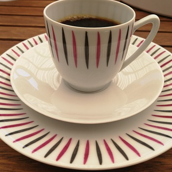 Cool 1960's coffe cups  - Pottery