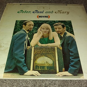 Peter, Paul And Mary...On 33 1/3 RPM Vinyl - Records
