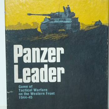 Panzer Leader Board Game - Games