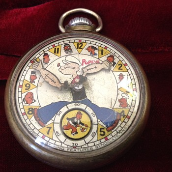 1st Edition Popeye Pocket Watch - Pocket Watches