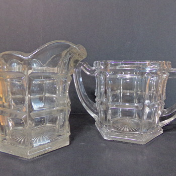 Northwood Sugar and Creamer Set - Glassware
