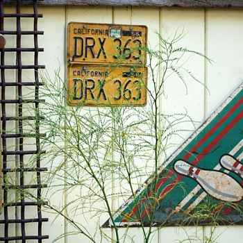 Old Bowling Sign - Signs