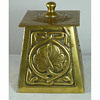 Alexander Ritchie of Iona - Arts & Crafts Brass String Tidy