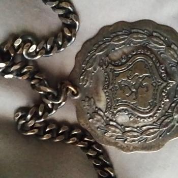 Unusual Lion medallion - Costume Jewelry