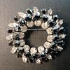 Sherman wreath brooch