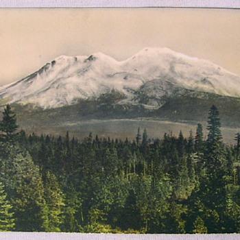 Old Photo of a Mountain Range - Photographs