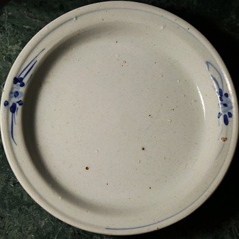 Very Old Chinese Plate - Asian