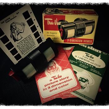 Vintage Tru-Vue 3D viewer - Toys
