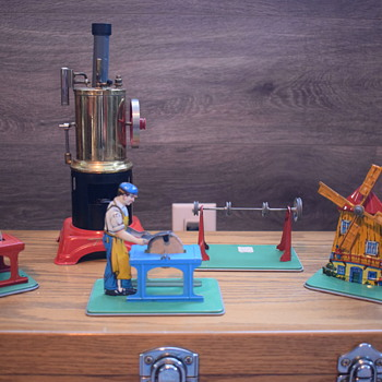 Steam engine sawmill - Toys