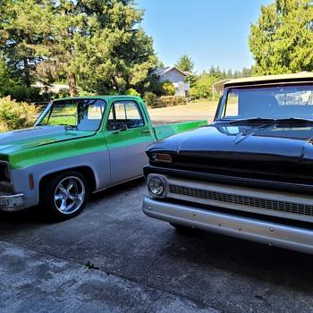 1964 C-10 & 1977 Shortbox Chevy Trucks - Photographs