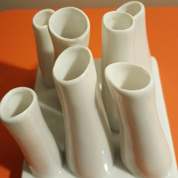 For Ho2cultcha! My organic tubes set of vases. - Pottery