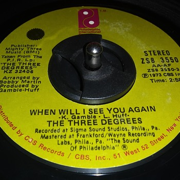 45 RPM SINGLE....#55 - Records