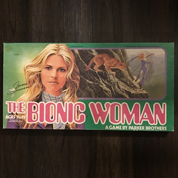 The Bionic Woman 1976 Board Game - Games