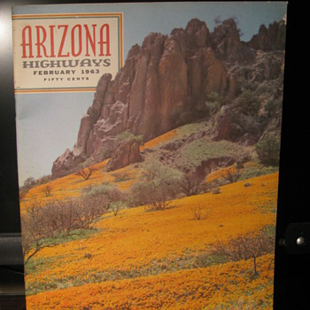 1963 Arizona Highways - Paper