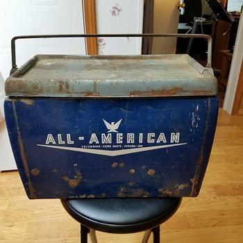 Vintage Cooler - Advertising