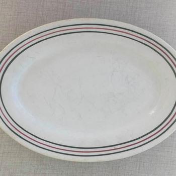 Iroquois/Syracuse China Platter 1945 - China and Dinnerware