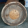 primitive wooden cog