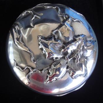 Wolfers Frères Art Nouveau gilded insite Silver Snuff Box  (1868-1942) - Art Nouveau